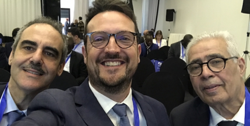 Dr Almeras au congrés national de l'association Marocaine d'urologie
